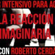 LA REACCIÓN IMAGINARIA. TALLER INTENSIVO PARA ACTORES – ROBERTO CERDÁ