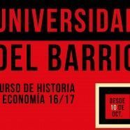 Universidad del Barrio 2016/2017