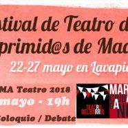 MARTES CIUDADANOS – Presentación FESTIVAL TEATRO DE LOS OPRIMIDOS