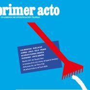 Presentación de PRIMER ACTO